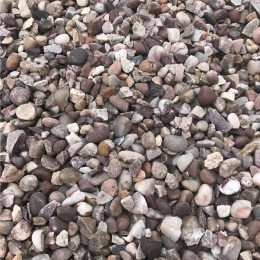 25kg Bag 20-5mm Pink Gravel Chippings