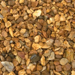 25kg Bag 10mm Golden Gravel Chippings