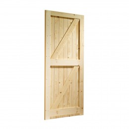 28 Fl&B Redwood Door External 2032X813 FSC