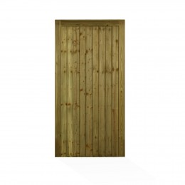 Charlton Country Fl&B Morticed Gate Green Treated 1778Mm X 900Mm PEFC             Cous0.9