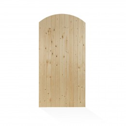 Charlton Priory L&B Arched Treated Gate 1830Mm X 900Mm PEFC                    PRI06