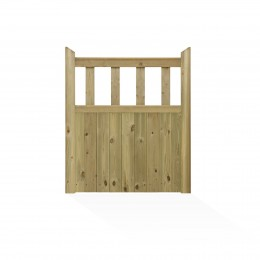 Charlton Hampton Close Boarded Treated Classic Garden Gate 1067Mm X 915Mm PEFC        HAM3