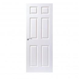 28 6P Grained Moulded Firecheck Door Internal. 23439 PEFC