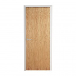 826 Oak Pre-Fin Firecheck Door Internal 826X2040