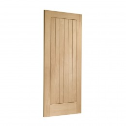 29 Suffolk Internal Oak Unfinished Door FSC INTOSUF33