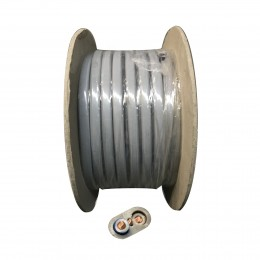 1.0mm 6242Y Twin & Earth Cable 100M Roll