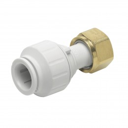 Speedfit 15mmx1/2In Straight Metal Tap Connector PEMSTC1514