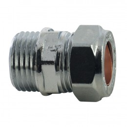 "15mmx1/2"" Mi Coupler Comp Loose Chrome M11150400P"