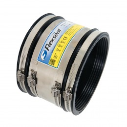 Sc290 Flexseal Rubber Coupling 225mm Clay/Conc
