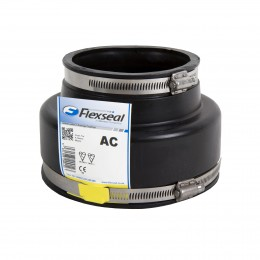 Ac4000 Flexseal Rubber Adaptor 100mm Clay/Plasti