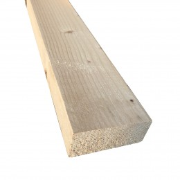47mm x 100mm Sawn Kiln-Dried Easi-Edge C16 Softwood (47x97) FSC