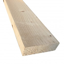 47mm x 125mm Sawn Kiln-Dried Easi-Edge C16 Softwood (47x122) FSC