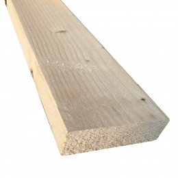 47mm x 150mm Sawn Kiln-Dried Easi-Edge C16 Softwood (47x147) FSC