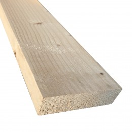 47mm x 175mm Sawn Kiln-Dried Easi-Edge C16 Softwood (47x172) FSC
