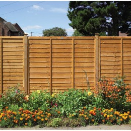 1.83M X 1.8M Grange Superior Lap Fence Panel GSL6 FSC(R)