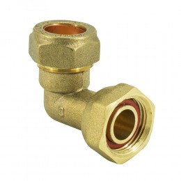 22mm X 3/4In Bent Tap Connector Comp   m24220600