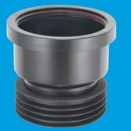 Mcalpine Drain Connector 110 X 110 Black Dc1Bl