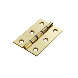 Sterling 75mm Dsw Brass Butt Hinges Hdsw1/Bp