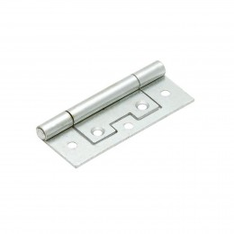 Sterling Flush Hinge 40mm (2)         Ifl40Zp/Bp