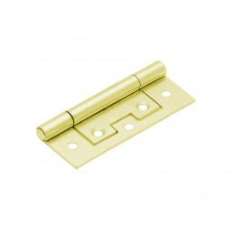 Sterling Flush Hinge 75mm (2)         Ifl75Eb/Bp