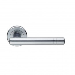Cb Developer Handle Lever On Rose Zin3116Sc Satin Chrome