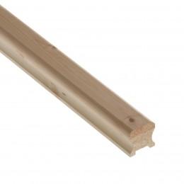 cm Hr2.432P Pine 2.4Mt 32mm Handrail PEFC