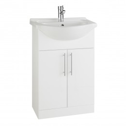 K-Vit Impakt 550mm Vanity Unit Inc Basin 2 Door Rwf55Unit/Rwf55Basin