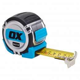 Pro Heavy Duty Tape Measure 5M Ox Metric And IMPERIAL OX-P028705