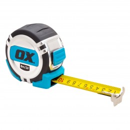 Pro Heavy Duty Tape Measure 8M Ox Metric And IMPERIAL OX-P028708
