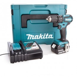 Makita 18V Brushless Combi Drill Dhp483 1X 4.0Ah Battery  Charger & Makpak Case