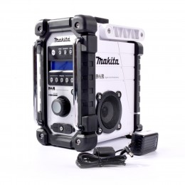 Makita Dmr109W Dab Site Radio (White) Digital With Aux-In