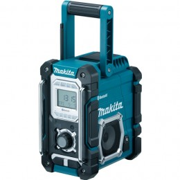 Makita Dmr106 Bluetooth Site Radio With Fm/Am  Aux-In & Usb Port