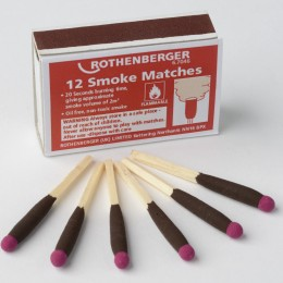 Rothenberger Smoke Matches Pack Of 12      67046