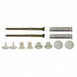 Fischer Wb10 Wc Pan To Floor Fixing Kit    42834 Vertical Fixing