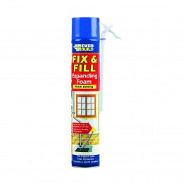 Everbuild Fix and Fill Quick Set Expanding Foam 750 ml EVFF7