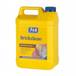 Feb Brickclean External Brick Cleaner 5 Litre FBBRICKCL5