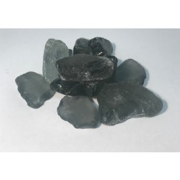 25kg Bag 100% Recycled Decorative Glass Pebbles Grade 20-50mm