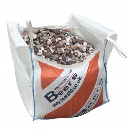 Jumbo Bag 20mm Pink Croxden Gravel NonReturnable