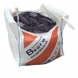 Jumbo Bag Slate Chippings Blue Ex Loose Non Ret