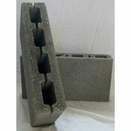 100mm Cellular Dense Concrete Block 3.5Kn 215X44