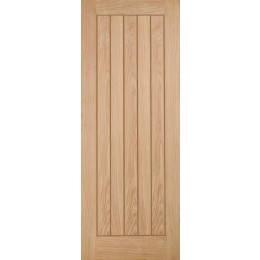 626 Belize Internal Unfinished Oak Door FSC OBEL626 2040X626MM 35MM