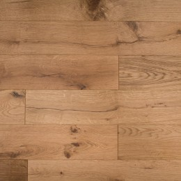 Elka 18mm X 150mm Engineered Enhanced Oak Brushed Matt Lacquered Finish 1.98m2 (Random)
