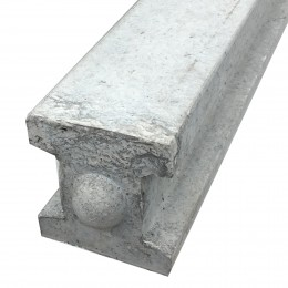 100X125 Concrete Slotted Int Post 1.37M PSTI1370P