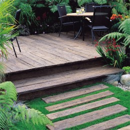 32X200mm Millboard Weathered Oak Decking 3.2M