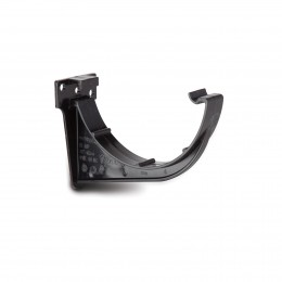112mm Half Round Rainwater Gutter Bracket Rr109 BLACK
