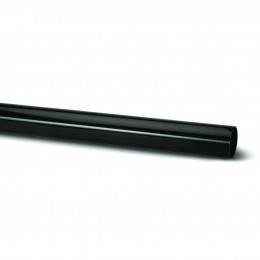 68mm Round Plain End Pipe 4M Rr123 BLACK