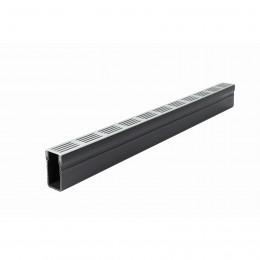 Aco Threshold Drain Slimline Aluminium Grate 1000mm                                     19000
