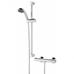 Bristan Zing Thermostatic Bar Mixer Shower Valve (Inc Riser KIT)      ZISHXSMCTC