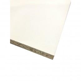 "15mm White Melamine Chipboard 457X2440 18"" FSC(R)"
