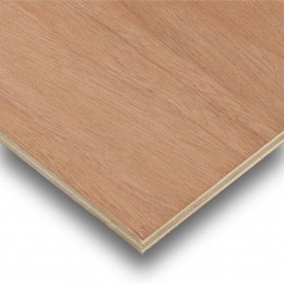18mm H/W Faced Poplar Core Plywood 1220X610 (approx. 4' x 2') CUT PLY EN636-2